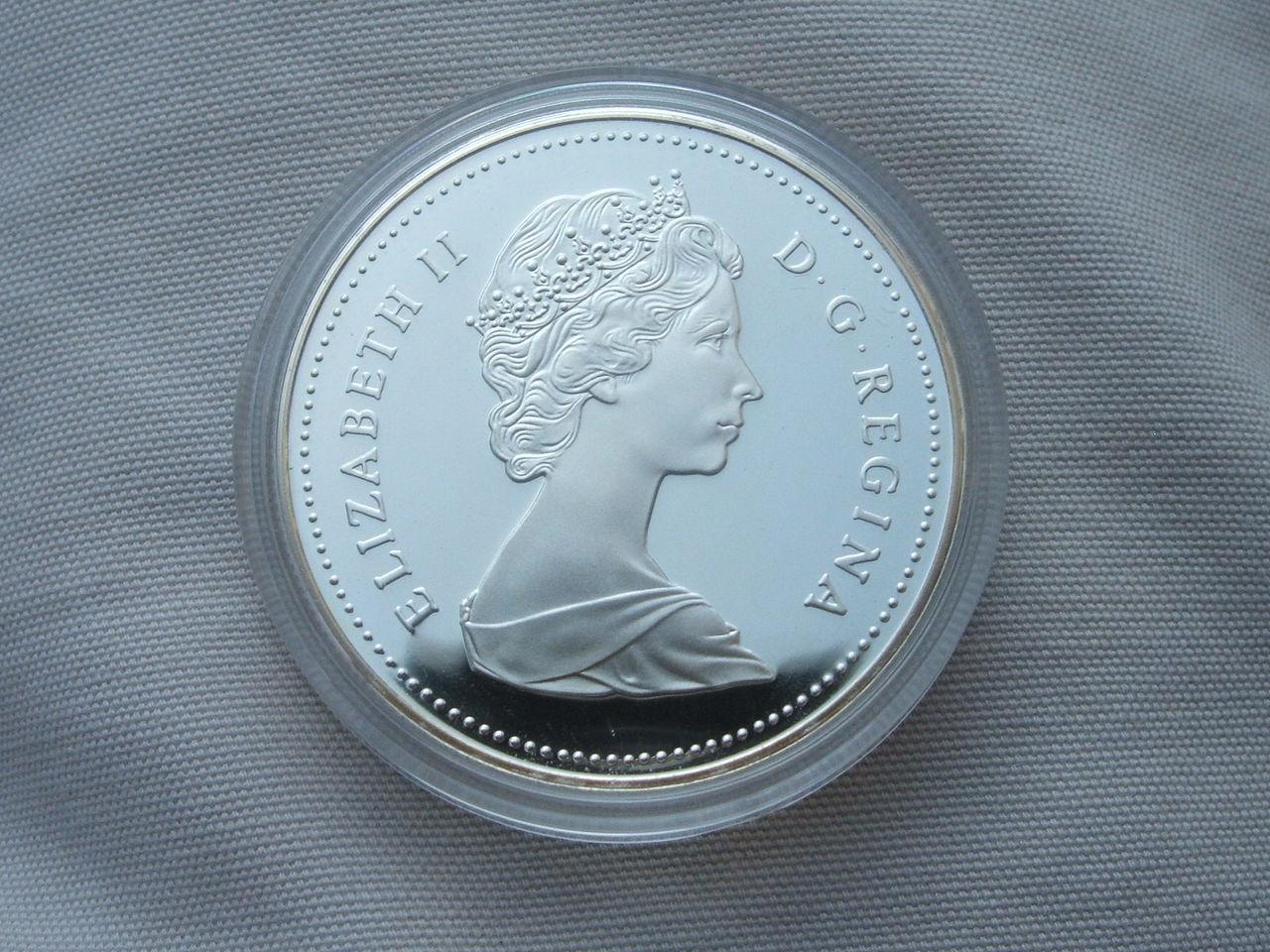 1 Dollar. Canada. 1989 014