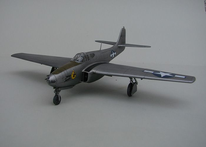 Bell P-59A Airacomet, Special Hobby ,1/72 DSC04398
