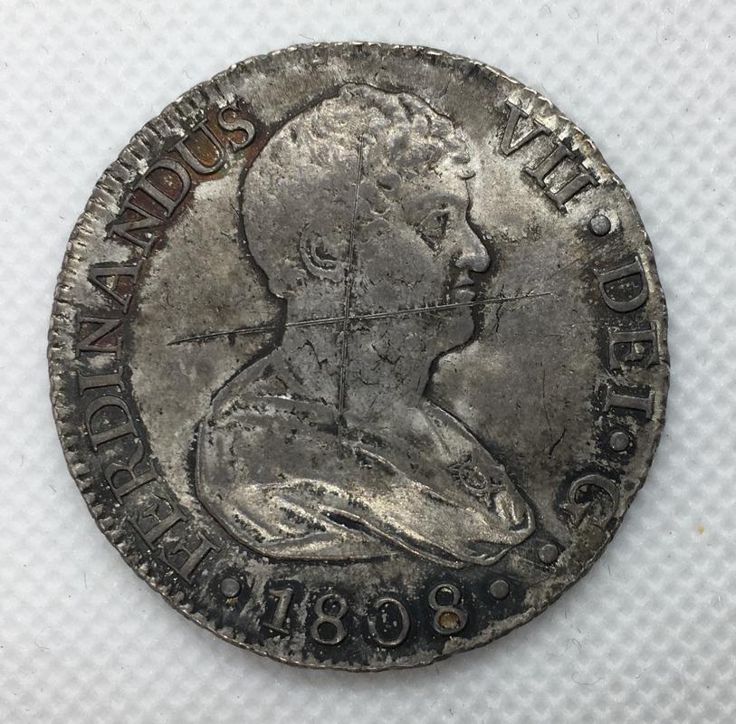 8 reales 1808. Fernando VII. Sevilla. C.N.  D21_ED315-_BF85-49_B5-9_B78-_C031_DC0_E06_BA