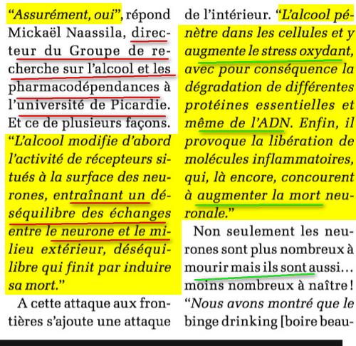 le Vin preuves scientifiques : christianisme détruit vos neurones Alcool2