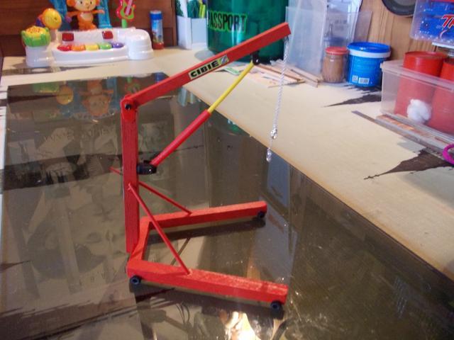 Diorama: Taller mecánico clásico, escala 1/10 DSCN6303