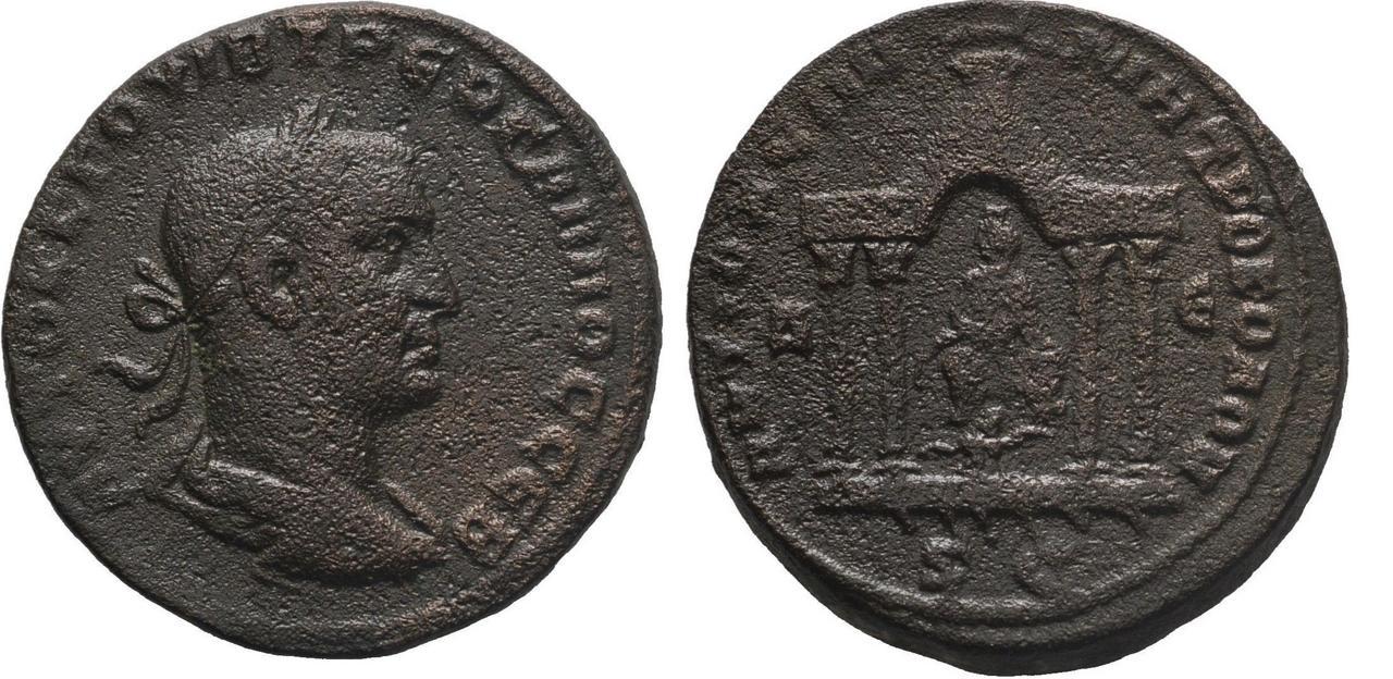 AE29 de Treboniano Galo.  Treb_galo_antioch