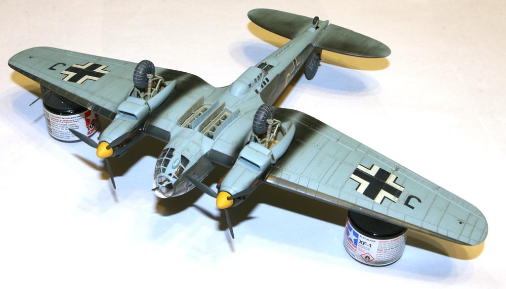 """Heinkel-111 P-2 """"Neville Chamberlain"""" 1/72 Hasegawa. IMG_3385"""