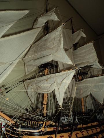 vespucci - Il mio primo cantiere navale, Amerigo Vespucci, scala 1/100 DeA - Pagina 17 DSC06160