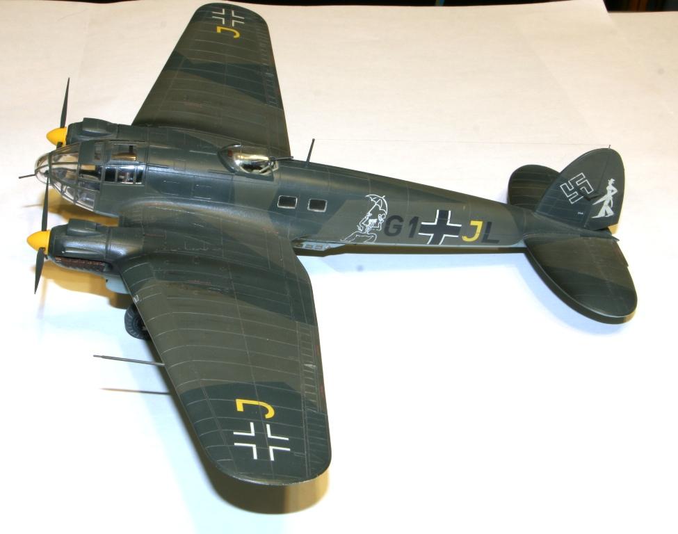 """Heinkel-111 P-2 """"Neville Chamberlain"""" 1/72 Hasegawa. IMG_3370"""