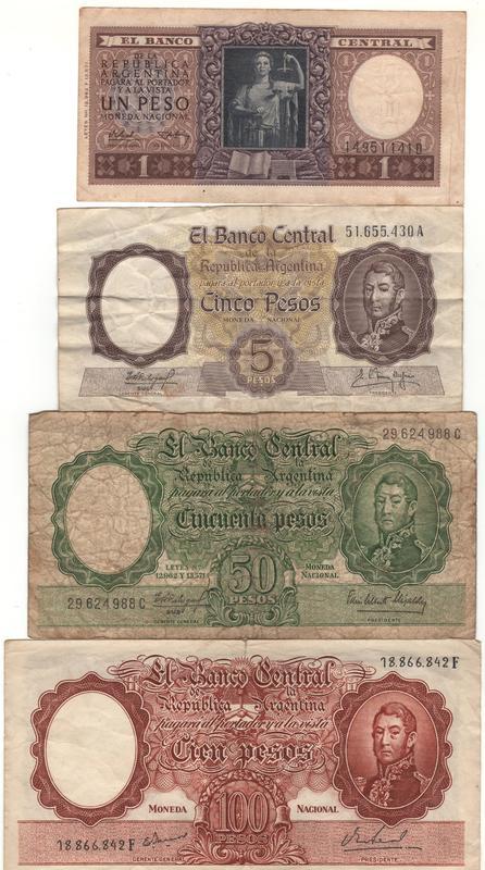 1 Peso Argentina, 1947 ANVERSO_SERIE