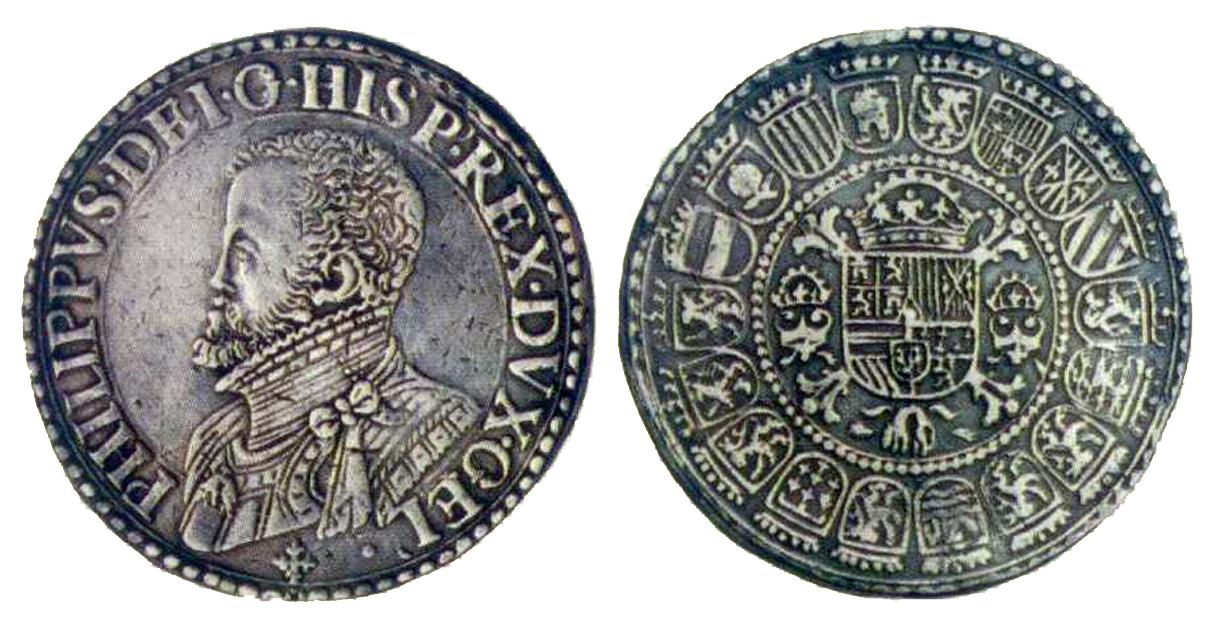 Ducaton acuñado en Bruselas año 1659 Felipe IV. 1601_escudo_nimega_felipe2