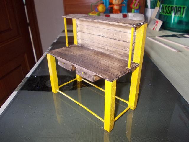 Diorama: Taller mecánico clásico, escala 1/10 DSCN6317