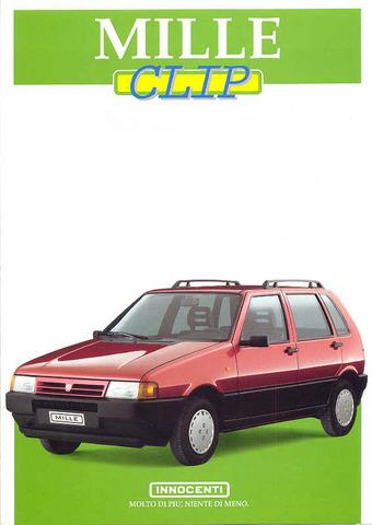 Auto Storiche in Brasile - FIAT - Pagina 6 Innocenti_mille
