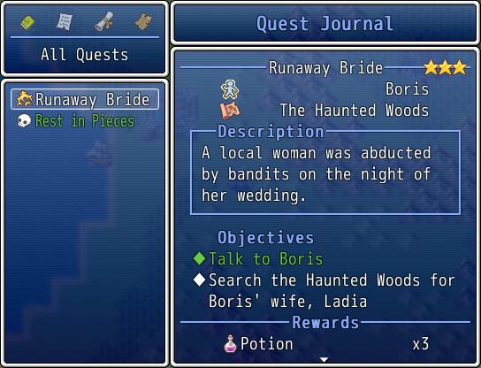 [ACE] Quest journal - Registro de misiones Qj1
