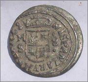8 maravedis 1663. Felipe IV. Madrid. Image