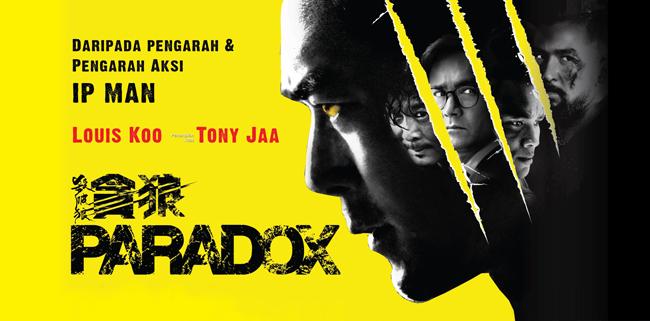 Tony Jaa (Actor, Artista Marcial Tailandés) Paradox-2017-banner