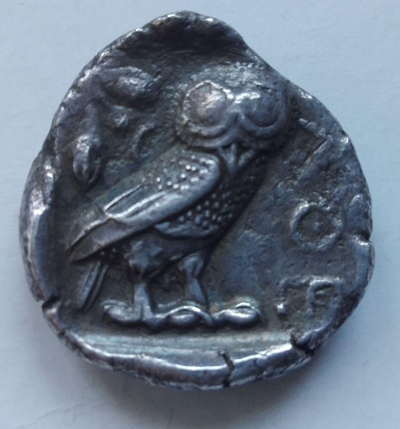 Tetradracma ático. Atenas. 449-413 A.C. Lechuza_4