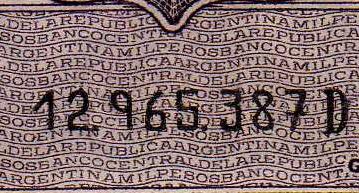 Antiguos Pesos de la Republica Argentina Leyes 12962 (Moneda Nacional) Numeracion_3