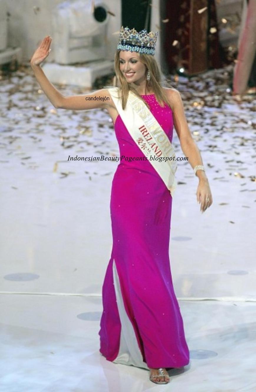 rosanna davison, miss world 2003. Fp59nc