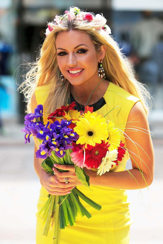 rosanna davison, miss world 2003. 2463882.main_image