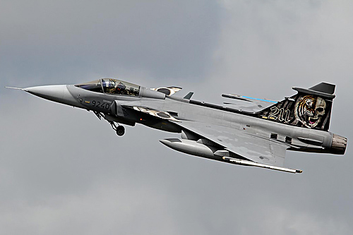 "JAS-39C Gripen – 211Sqn Czech Air Force ""Tigermeet 2014"" 107"