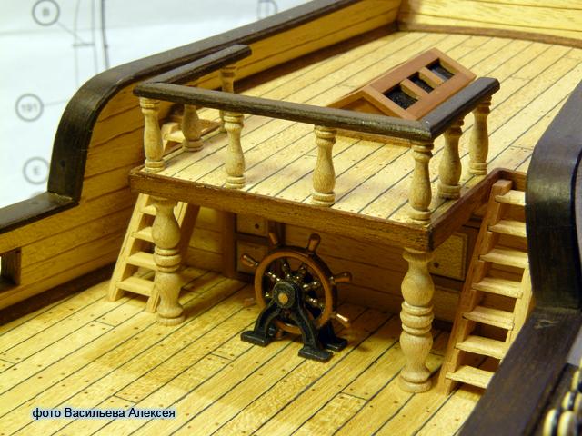 """Собирательный образ пиратского корабля """"CORSAIR"""" масштаб 1:80 фирмы OCCRE 0yIoF"""