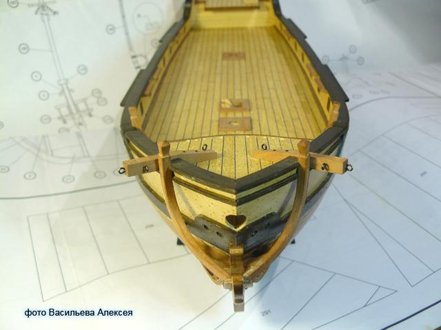 """Собирательный образ пиратского корабля """"CORSAIR"""" масштаб 1:80 фирмы OCCRE 30x5I"""