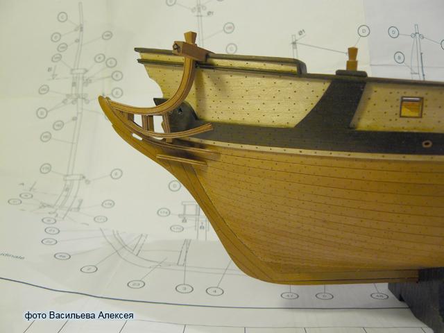 """Собирательный образ пиратского корабля """"CORSAIR"""" масштаб 1:80 фирмы OCCRE FlPr6"""