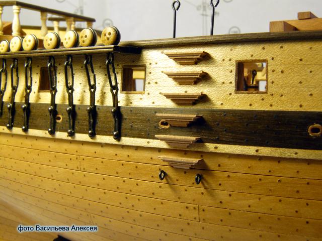 """Собирательный образ пиратского корабля """"CORSAIR"""" масштаб 1:80 фирмы OCCRE Jf7TU"""