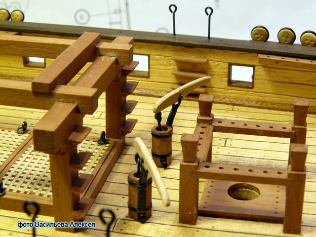 """Собирательный образ пиратского корабля """"CORSAIR"""" масштаб 1:80 фирмы OCCRE URv4B"""