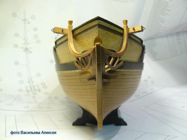 """Собирательный образ пиратского корабля """"CORSAIR"""" масштаб 1:80 фирмы OCCRE WPL9a"""