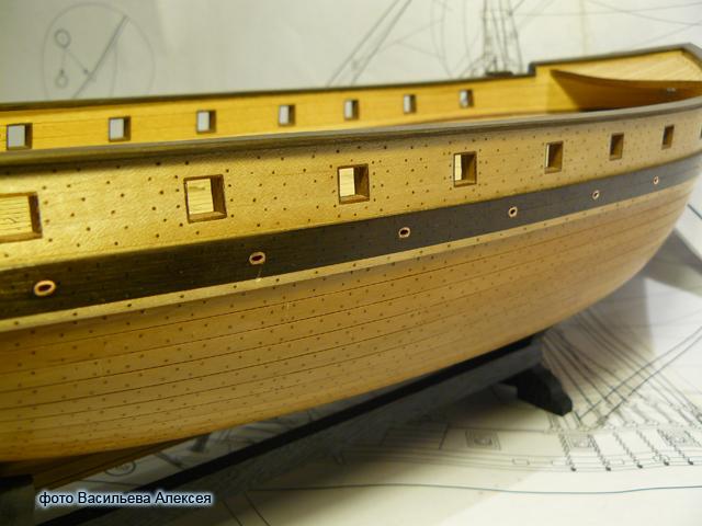 """Собирательный образ пиратского корабля """"CORSAIR"""" масштаб 1:80 фирмы OCCRE EqPK5"""