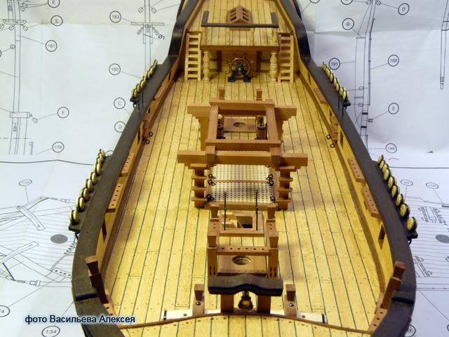 """Собирательный образ пиратского корабля """"CORSAIR"""" масштаб 1:80 фирмы OCCRE FgtRM"""