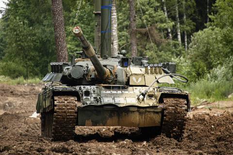 Т-80У («Объект 219АС») - основной боевой танк 6SBfm