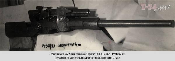 Ф-32 - 76,2-мм танковая пушка 7bxpc