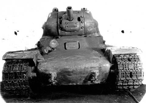 КВ-13 («Объект 233») - средний танк OTSEZ