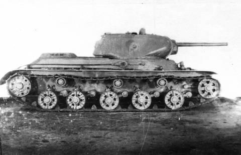 КВ-13 («Объект 233») - средний танк XMLPg