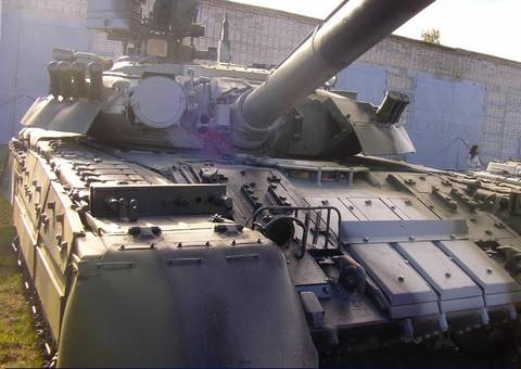 Т-80УД («Объект 478Б») - основной боевой танк DZTiI
