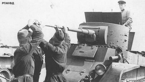 БТ-7 - лёгкий колесно-гусеничный танк LXc1B