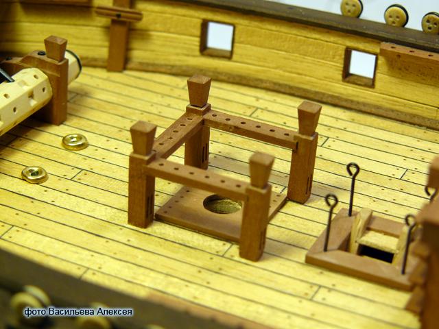 """Собирательный образ пиратского корабля """"CORSAIR"""" масштаб 1:80 фирмы OCCRE WnOks"""