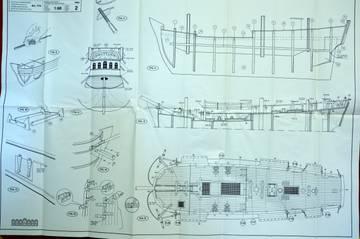 """HMS Endeavour"", Mantua, 1/60 XbwAf"
