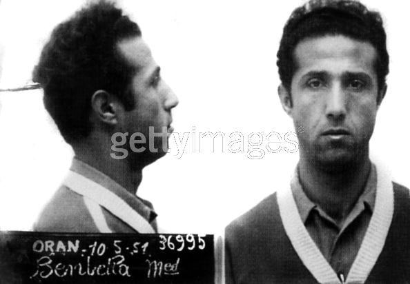 Le tirailleur marocain Ben Bella, l'infiltré du FLN Benbella1951