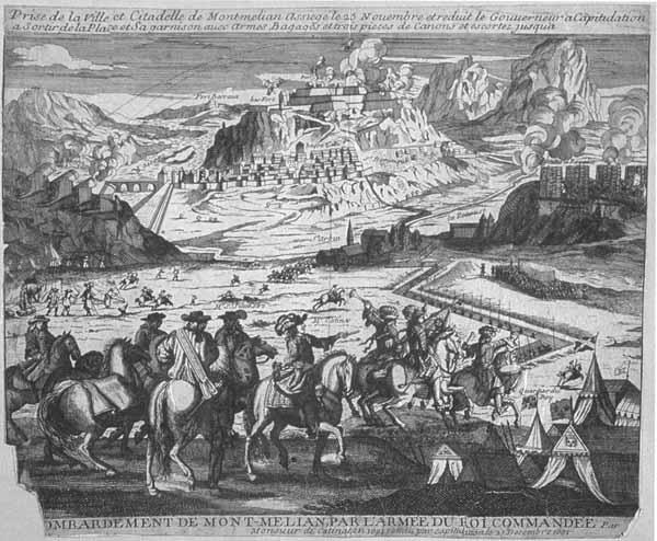 L'invasion française de 1600 à 1601 Siege_montmelian