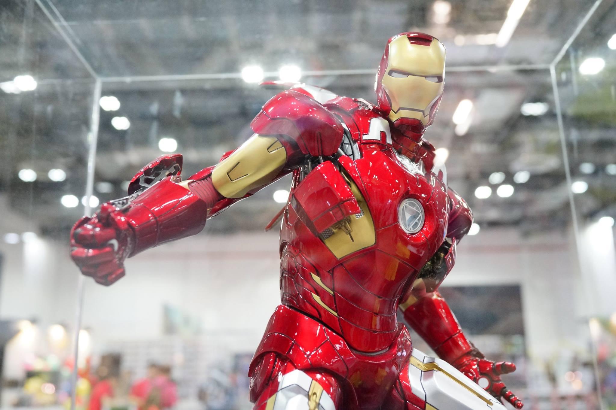 Premium Collectibles : Iron man MK VII - Page 2 4