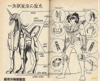 Myth cloth Licorne et l' Hydre Jabu