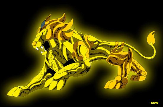 Myth cloth Lion Lion