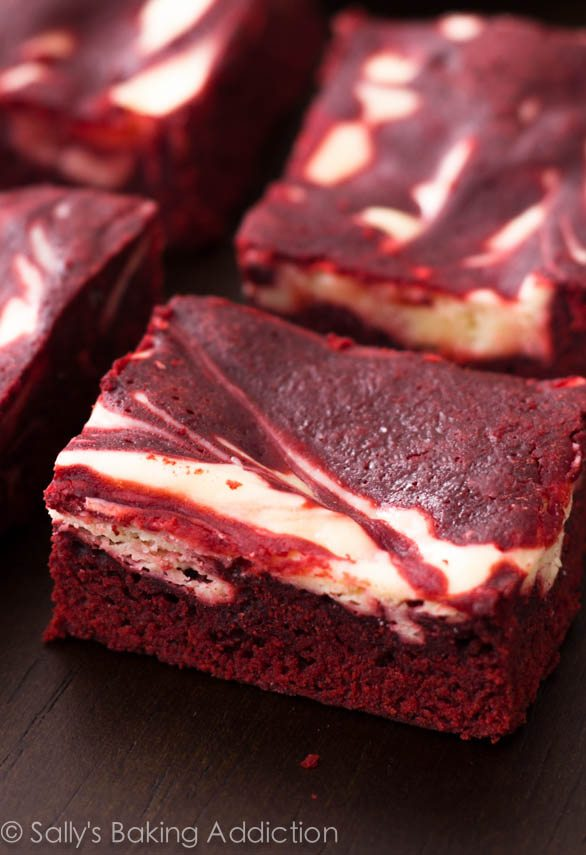 FOOD PORN!~ Add more if you'd like!  Red-Velvet-Cheesecake-Brownies-8
