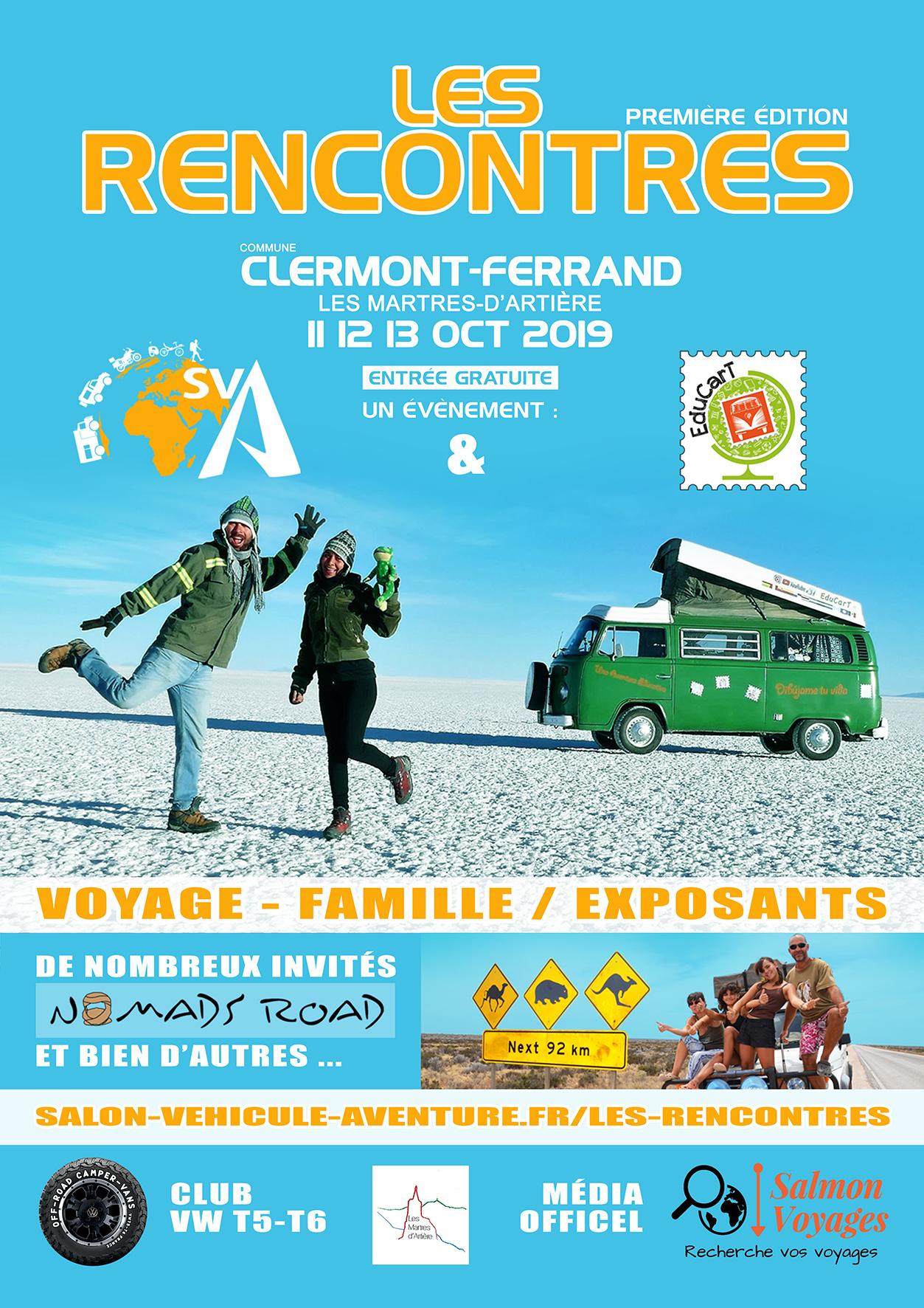 LES RENCONTRES en Auvergne, ambiance voyage en famille ! RENC2019-affiche-web-auvergne