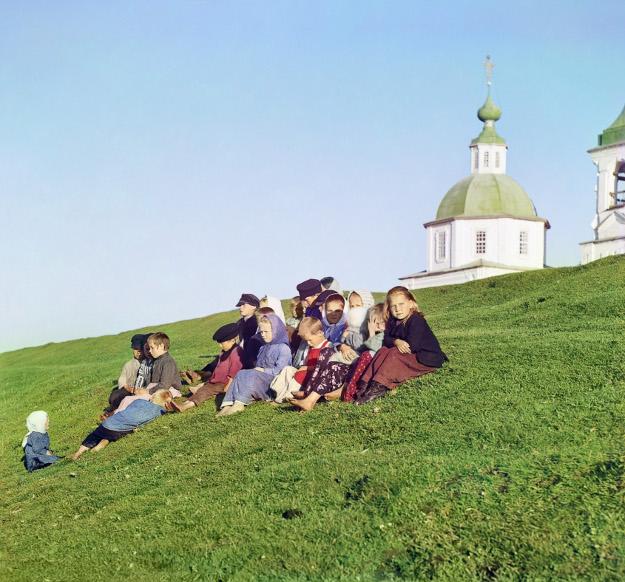 Прокудин-Горский /// Царская Россия, цветные фото 1067_552o_belozersk