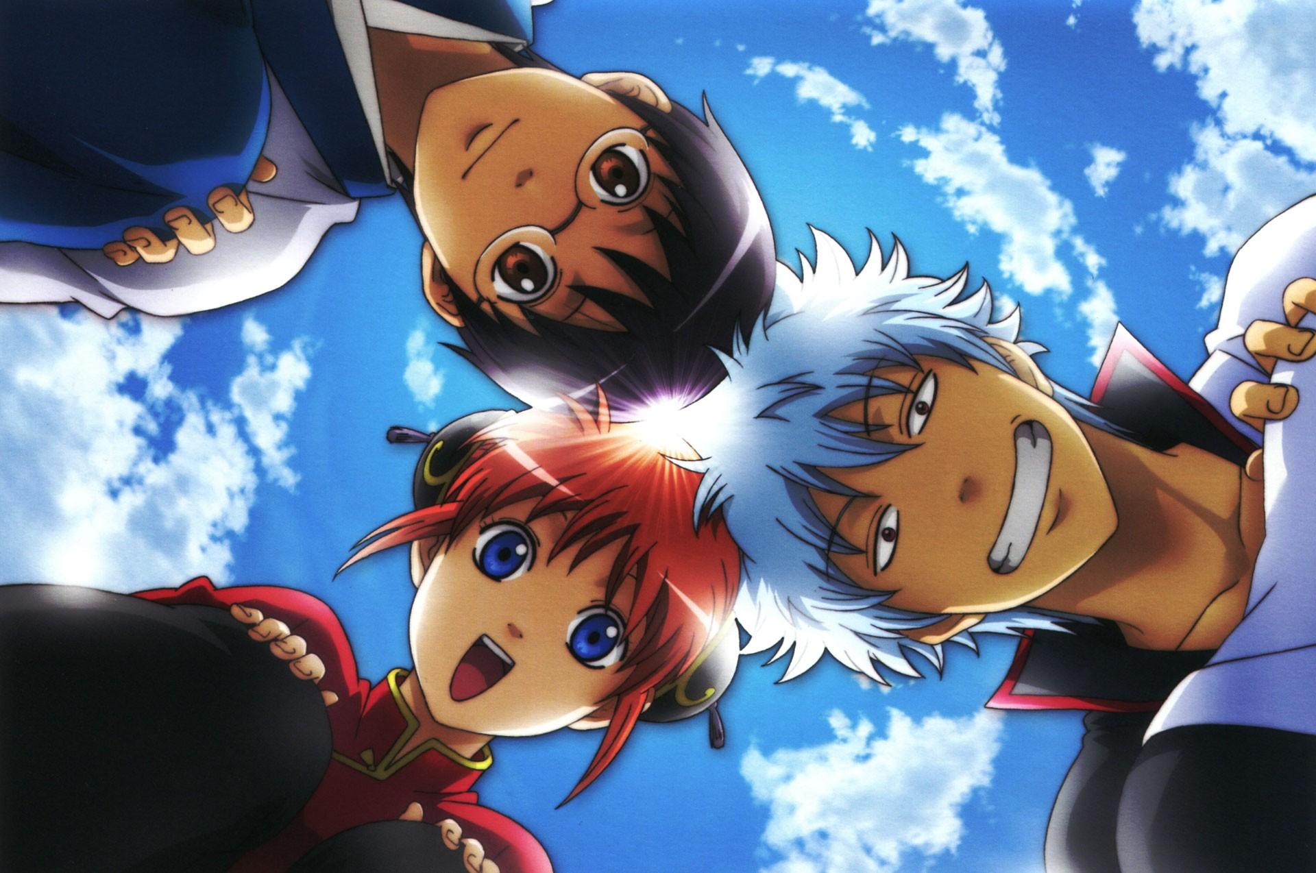 [ARTICLE][TOP 5] Les Mangas/Animes les plus drôles 49444_gintama