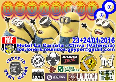 REVA8 23+24/01/2016 Cartel%208%20REVABowl%20400