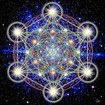 SACRED GEOMETRY: The Universe Is Made of Tiny Bubbles Containing Mini-Universes, Scientists Say Sacredgeometry