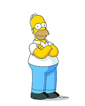 Best Character In A TV Show Homersimpson