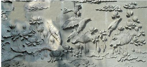 Nội, ngoại thất: Giá đắp phù điêu nổi trên tường Dap-tranh-phu-dieu-0-7